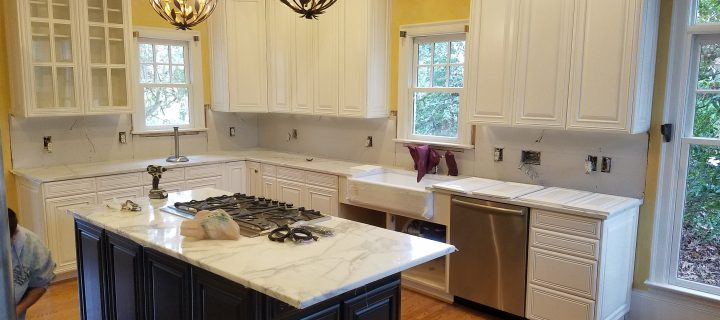Ballantyne Country Club Cabinet Refinishing